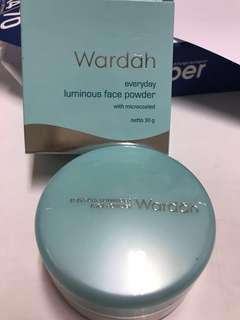 Wardah face powder