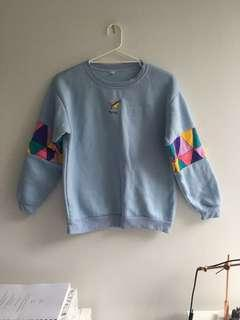 Flying retro sweater jumper