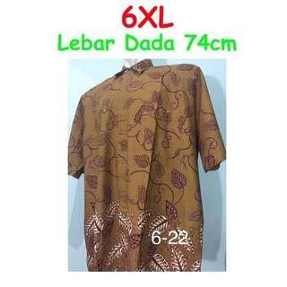 🚚 PO Batik tee / shirt 6xl big/jumbo size