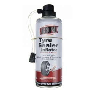 Emergency tyre sealant inflator