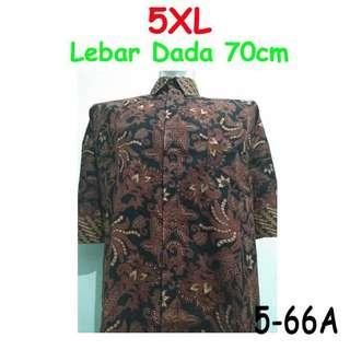 🚚 Batik tee / shirt 5xl big/jumbo size