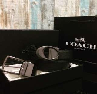 COACH dual buckle belt (Authentic)