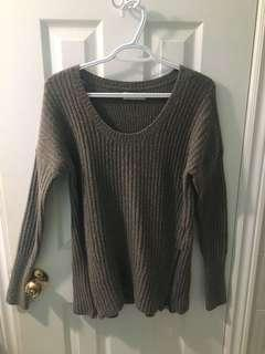 Grey sweater from Abercrombie and Fitch Size M