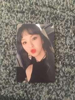Red Velvet Rookie Wendy Official Photocard