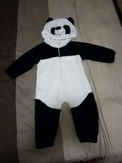 Panda Costume (thick stuffed toy material)