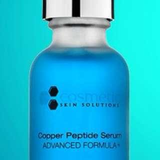 Cosmetic Skin Solutions Copper Peptide 30ml 藍銅 胜肽防敏嫩膚精華 透明質酸 css serum