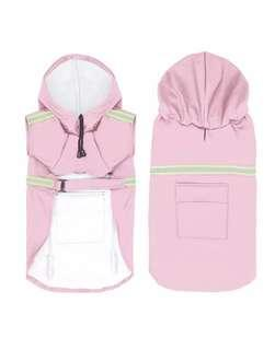 Pink 2XL waterproof rain coat