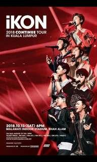 iKON CONTINUE TOUR ikonic zone