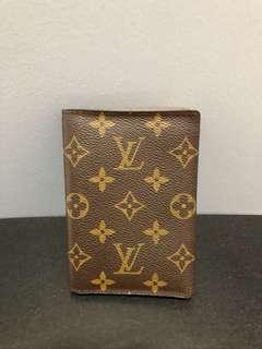 Original Louis Vuitton Monogram Passport Cover