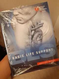 AHA Basic life support BLS provider manual