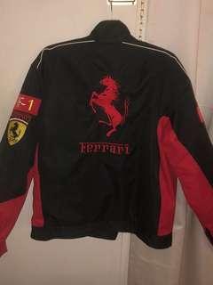 Race car Ferrari jacket