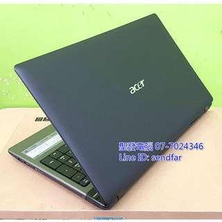 🚚 高效大螢幕 ACER AS5750 i5-2430M 4G 500G DVD 15吋筆電 聖發二手筆電