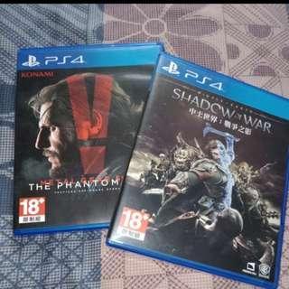 PS4 Bundle of 2