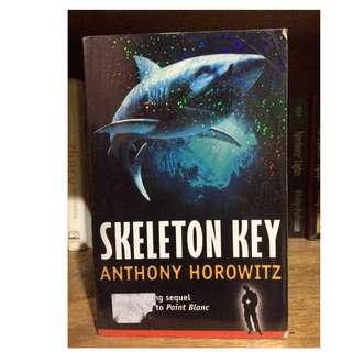 SKELETON KEY 3rd book of the Alex Rider series by Anthony Horowitz
