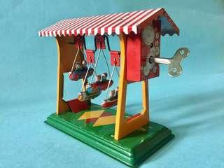 Vintage Aviation Airplane Tin Toy 懷舊 航空 飛機 鐵皮玩具