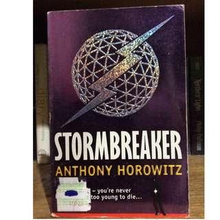 STORMBREAKER 1st book of Alex Rider series by Anthony Horowitz