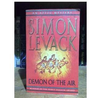 DEMON OF THE AIR 1st book of the Aztec Murder Mystery by Simon Levack