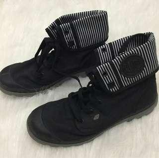 Palladium Black Boots