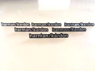 Harman/ Kardon emblem pins