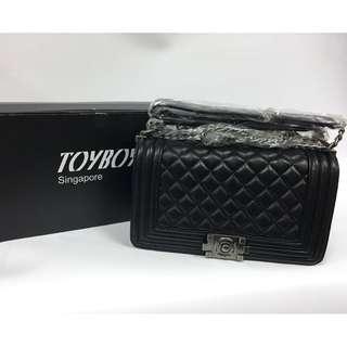 [New Arrival]TOYBOY LUXURY series Lambskin bag 25cm(black color) CHANEL FUN-FREE ETON 5000mAh powerbank