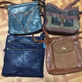 TAKE ALL FOR 1800! Sling bags