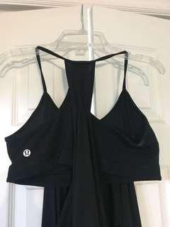 Lululemon tank with built in bra size 6