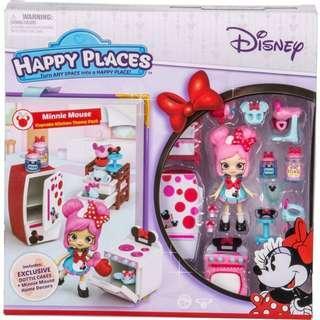 BNIB: Happy Places Disney Season 1 Minnie Mouse Cupcake Kitchen Theme Pack