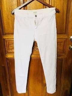 HW WHITE PANTS FOR WOMEN (L-strechable)