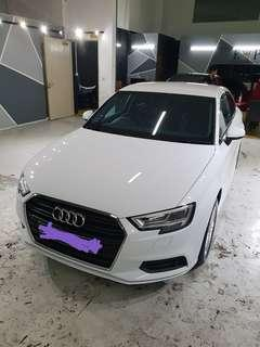 Brand new Audi A3 FL (2018) original front bumper and grille