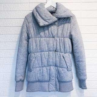 🚚 2% 灰色鋪棉外套