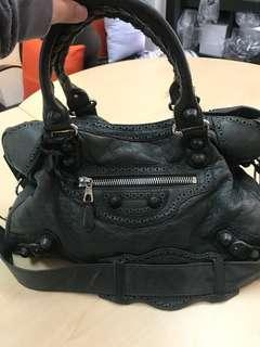 Balenciaga Giant Anthracite with mirror and tassels only