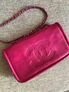 Chanel Bag 漆皮桃紅色