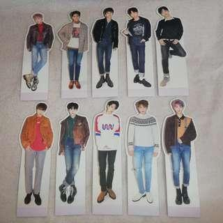 Wanna One Nothing Without You Mini Standing Doll Standee Photocard Official