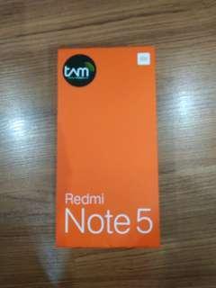 Jual Hp Xiaomi Redmi note 5 pro 4/64gb pemakaian 5 hari Gold