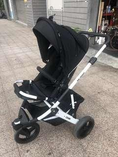 🚚 德國🇩🇪ABC DESIGN cobra🇩🇪 超穩 高景觀推車 雙向推車 嬰兒推車加原廠ABC提籃附轉接器