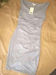 Kookai Aschem Wrap Midi Dress