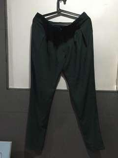 Basil Green Trousers