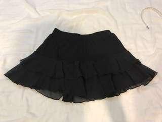 🚚 黑色蛋糕裙 #十月女裝半價