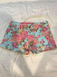 🚚 夏季花色短褲 #十月女裝半價