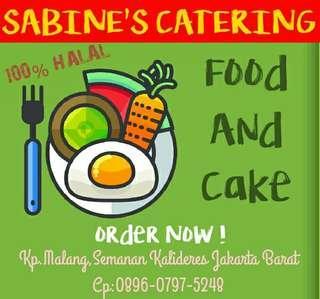 Sabine Catering menyediakan nasi box snack nox nasi kotak murah area jakarta tangerang