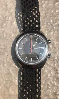 Omega Chronostop 145.009 grey dial rolex iwc seiko citizen