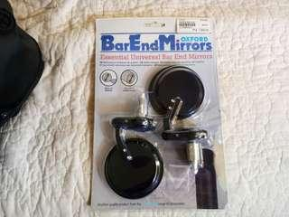 Oxford Bar End Mirrors (Discounted! Totally Unused!)