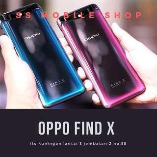 OPPO Find X Smartphone [256GB/ 8GB] Kredit Cepat