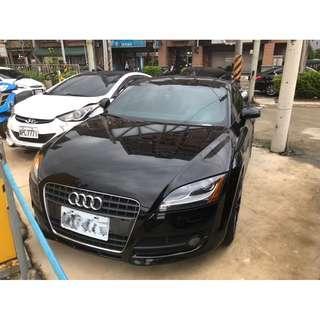 🏎二手車🚘中古車💰全額貸🚙08年 Audi TT  黑色