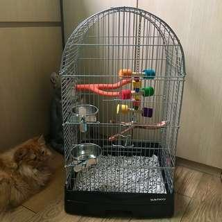 BN SANKO Bird Cage with Accessories