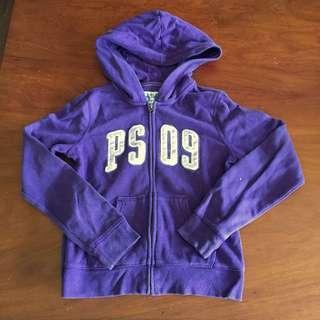 AEROPOSTALE purple hoodie jacket
