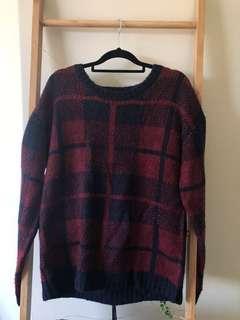 Vintage Knit Sweatshirt