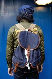 🇯🇵日本製Warehouse Denim Backpack