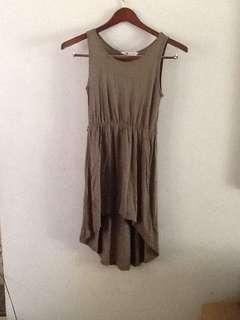 H&M High Low Dress
