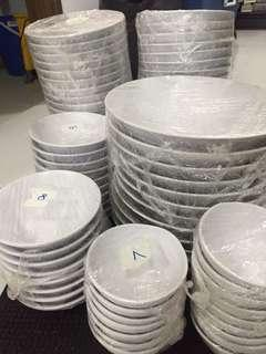 Dining Bowls, side dishs, trays